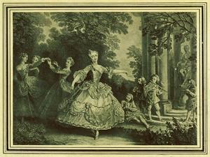 Marie Sallé by Nicolas Lancret