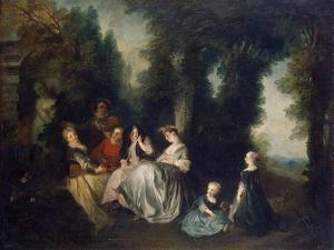 Party in the Garden, 1690-1743 by Nicolas Lancret