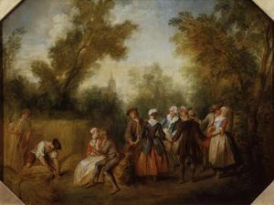 Summer, 1738 by Nicolas Lancret