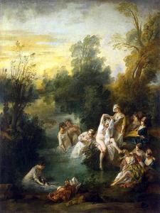 Summer, C1730 by Nicolas Lancret