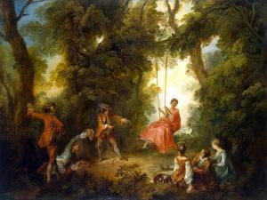 Swing, 1730S by Nicolas Lancret