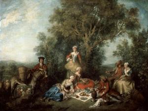 The Autumn, 1738 by Nicolas Lancret