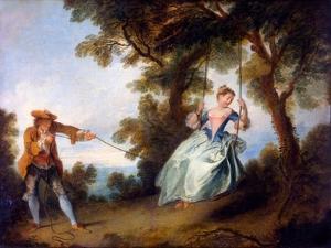 The Swing, 1730 by Nicolas Lancret