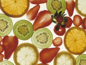 Fruit Slice Still Life by Nicolas Leser