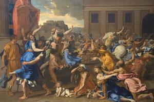 Abduction of the Sabine Women by Nicolas Poussin