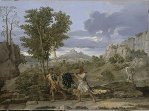 Autumn or the Grapes Brought from the Promised Land by Nicolas Poussin