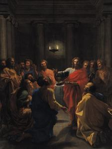 Christ Instituting the Eucharist, or the Last Supper, 1640 by Nicolas Poussin