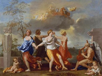 Il Ballo Della Vita Humana (A Dance to the Music of Time), 1638-1640 for Clemens Ix