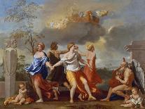 Adoration of the Sheperds-Nicolas Poussin-Art Print