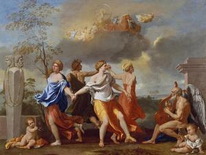 Il Ballo Della Vita Humana (A Dance to the Music of Time), 1638-1640 for Clemens Ix by Nicolas Poussin