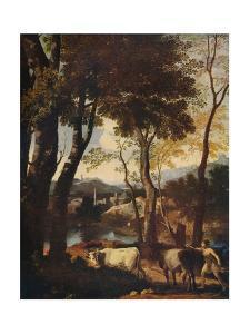 'Landscape', c1630 by Nicolas Poussin