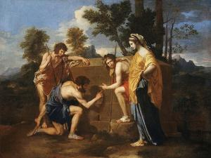 Les Bergers D'Arcadie (Shepherds of Arcadia), also Called Et in Arcadia Ego by Nicolas Poussin