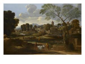 Les Funérailles de Phocion by Nicolas Poussin