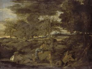 Paysage by Nicolas Poussin