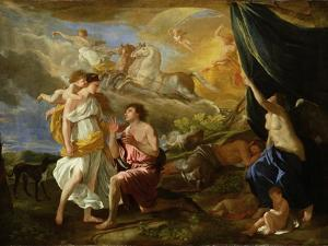 Selene and Endymion, c.1630 by Nicolas Poussin