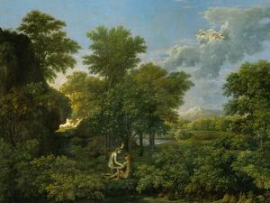 Spring, or Paradise on Earth, 1660-64 by Nicolas Poussin