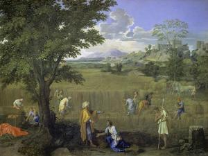 Summer (Ruth and Boaz), 1660-1664 by Nicolas Poussin