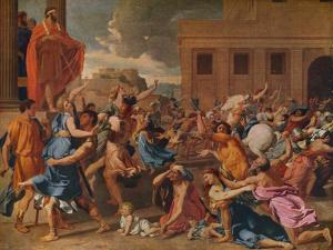 'The Abduction of the Sabine Women', c1633 by Nicolas Poussin