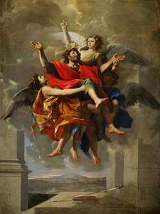 The Apotheosis of Saint Paul by Nicolas Poussin