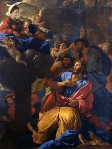 The Apparition of the Virgin to St James the Great, C1629-1630 by Nicolas Poussin