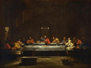 The Eucharist, Symbolized by the Last Supper by Nicolas Poussin