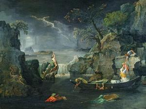 Winter, or the Flood, 1660-64 by Nicolas Poussin