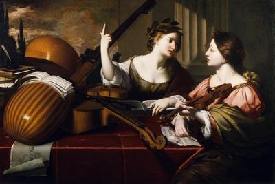 Divine Inspiration of Music, c.1640