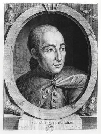 Nicolas, Rétif De La Bretonne-Louis Berthet-Giclee Print