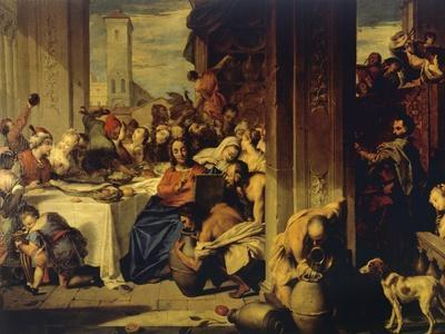 Marriage at Cana, 1728, Painting by Nicolas Vleughels (1668-1737), France, 18th Century