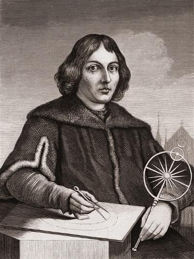 Nicolaus Copernicus, C.1850--Giclee Print
