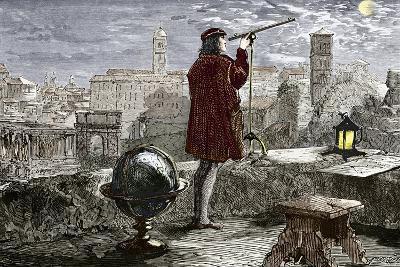 Nicolaus Copernicus, Polish Astronomer-Sheila Terry-Photographic Print