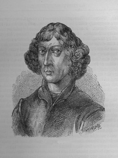 Nicolaus Copernicus, Polish mathematician and astronomer, 1894-Unknown-Giclee Print