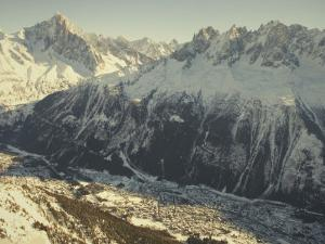 The Tourist Resort of Chamonix Sits at the Foot of the French Alps by Nicole Duplaix
