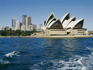 View of the Sydney Opera House and Sydney Harbor by Nicole Duplaix