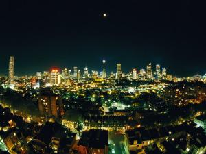 Wide-Angle View of Sydney by Nicole Duplaix
