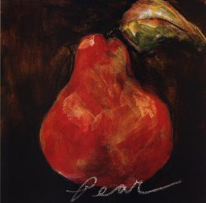 Red Pear by Nicole Etienne