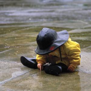 Child in the Rain by Nicole Katano