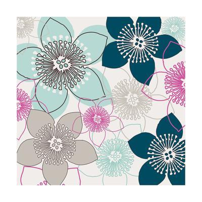 Boho Floral Collection I
