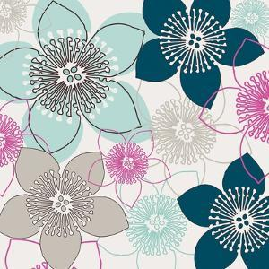 Boho Floral Collection I by Nicole Ketchum
