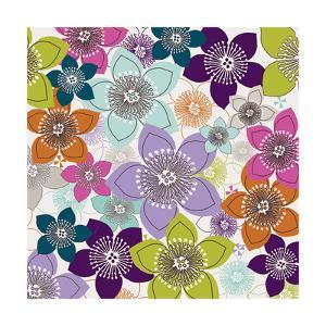Boho Floral I by Nicole Ketchum