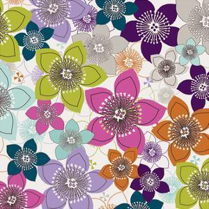 Boho Floral II by Nicole Ketchum