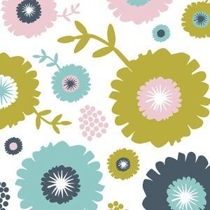 Garden Floral I by Nicole Ketchum