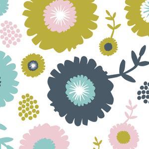 Garden Floral II by Nicole Ketchum