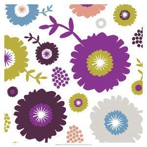 Garden Floral III by Nicole Ketchum