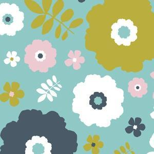 Sweet Floral I by Nicole Ketchum