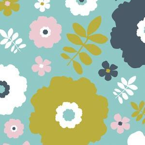 Sweet Floral II by Nicole Ketchum