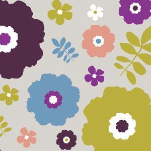 Sweet Floral III by Nicole Ketchum