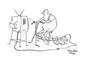 New Yorker Cartoon by Niculae Asciu