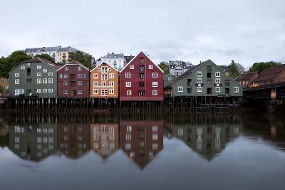 Nidelva River, Trondheim, Norway, 2010--Photographic Print
