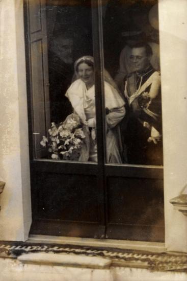 Niederlande, Prinzessin Juliana Und Prinz Bernhard--Giclee Print